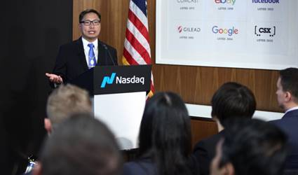 CEO Of Fairfax, David Suess, Delivers Heartfelt Speech at NASDAQ